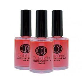 Pack 3 x Cuticle Oils - Strawberry 15ml