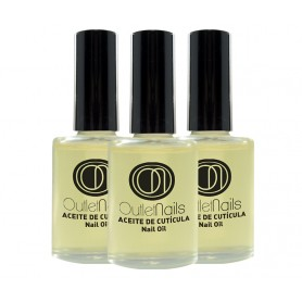 Pack 3 x Cuticle Oils - Vanilla 15ml