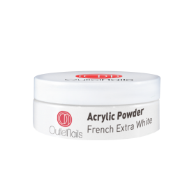 Acrylic Powder - French Extra White 30g