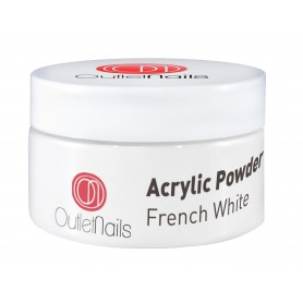 Polvo Acrilico French White 70g