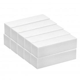 10 White Nail Block  200/240