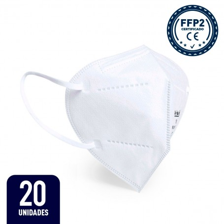 20 x Mascarilla FFP2 - Blanca