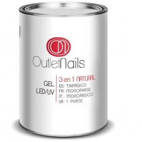 Gel Monophase Natural  UV/LED 1000ml