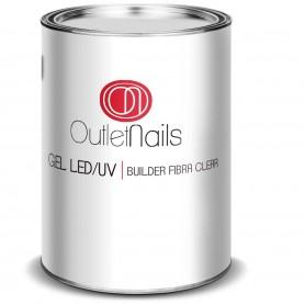 Gel Builder Fibra Clear UV/LED 1000ml